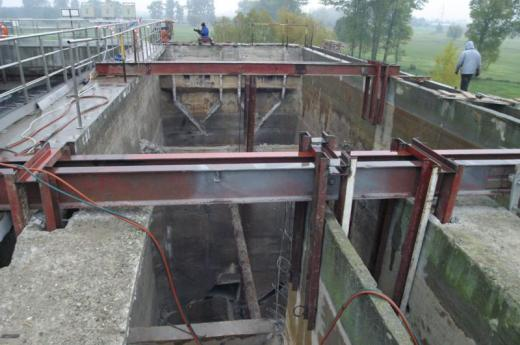 Sewage treatment plant – repair and upgrading