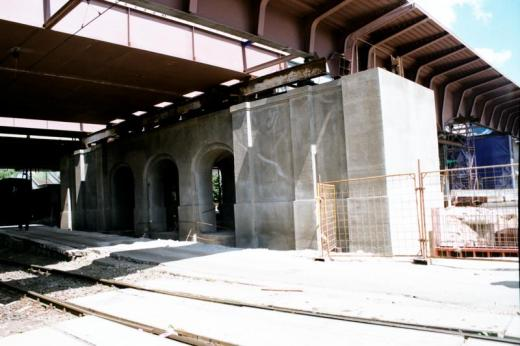 Historic bridge pillars – restoration of shape